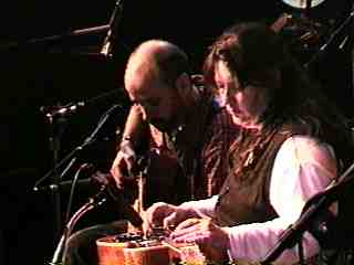 Tony Furtado with Sally Van Meter